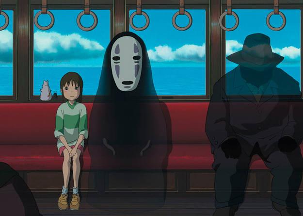 Kaonashi en El viaje de Chihiro