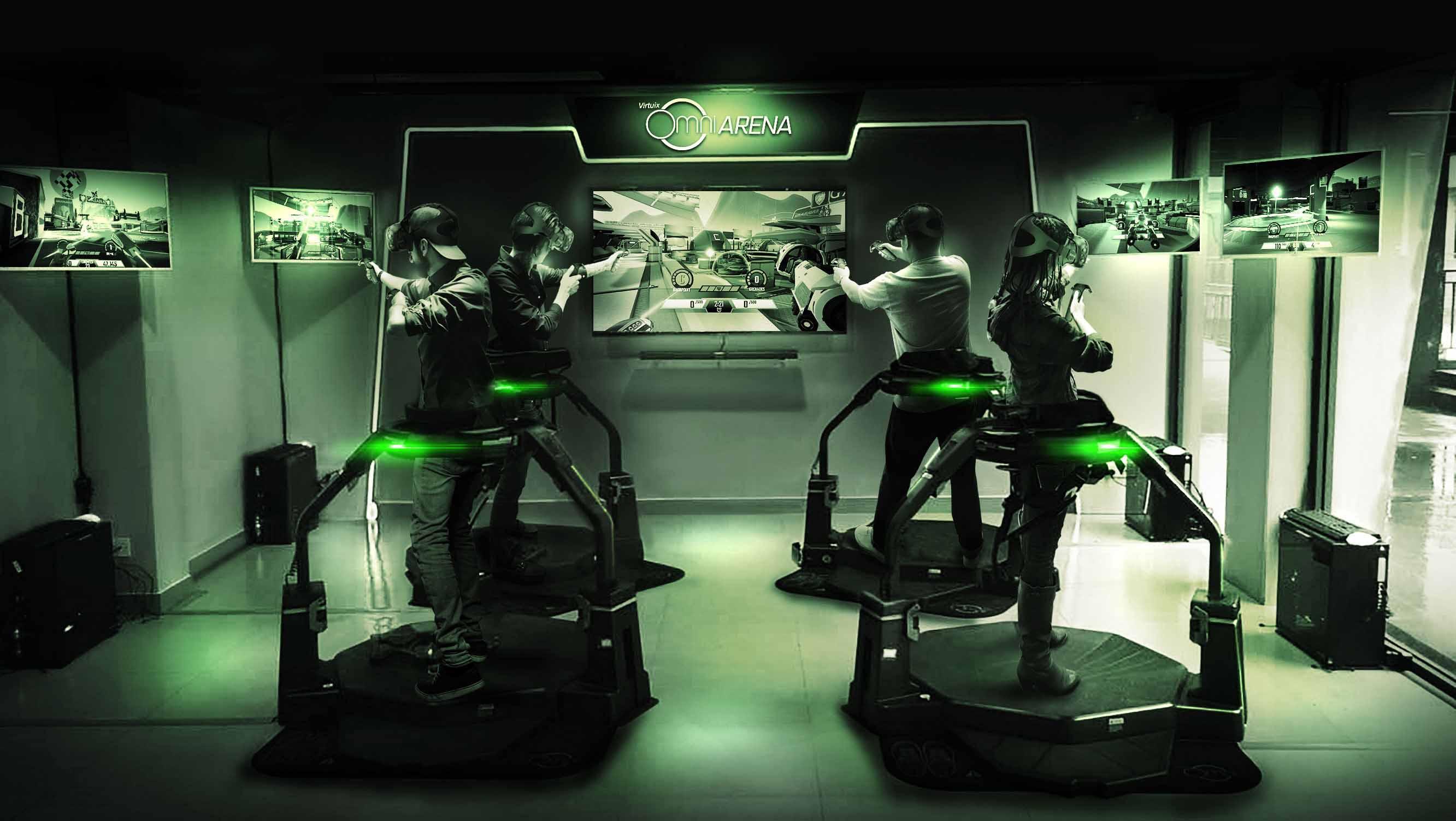 El Virtuix Omni y la realidad virtual