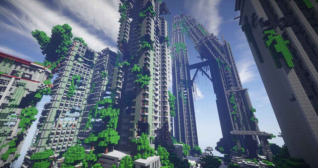 El planeta Tierra en Minecraft