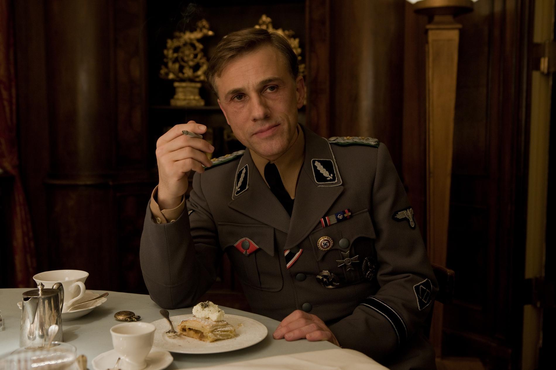 Hans Landa interpretado por Christoph Waltz