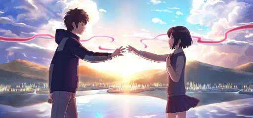 Final de la película Kimi no Na wa, Your name