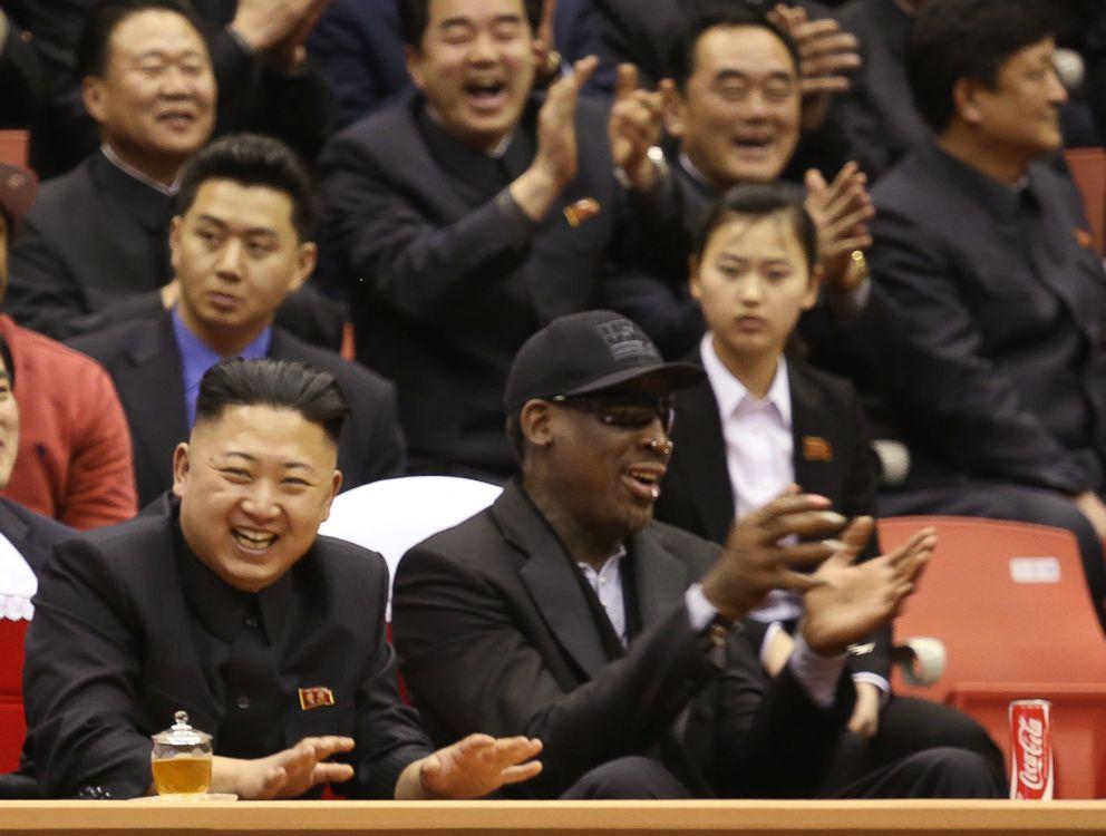 La bizarra amistad entre Dennis Rodman y Kim Jong Un
