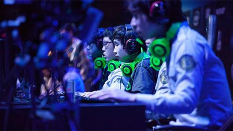 Participantes de un torneo de videojuegos