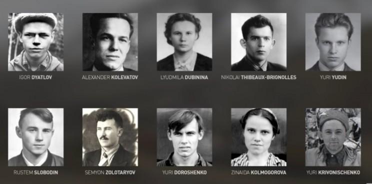 Miembros de la expedición Dyatlov