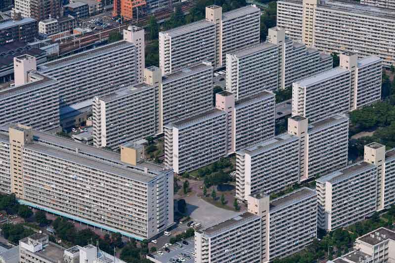 Complejo de edificios Takashimadaira