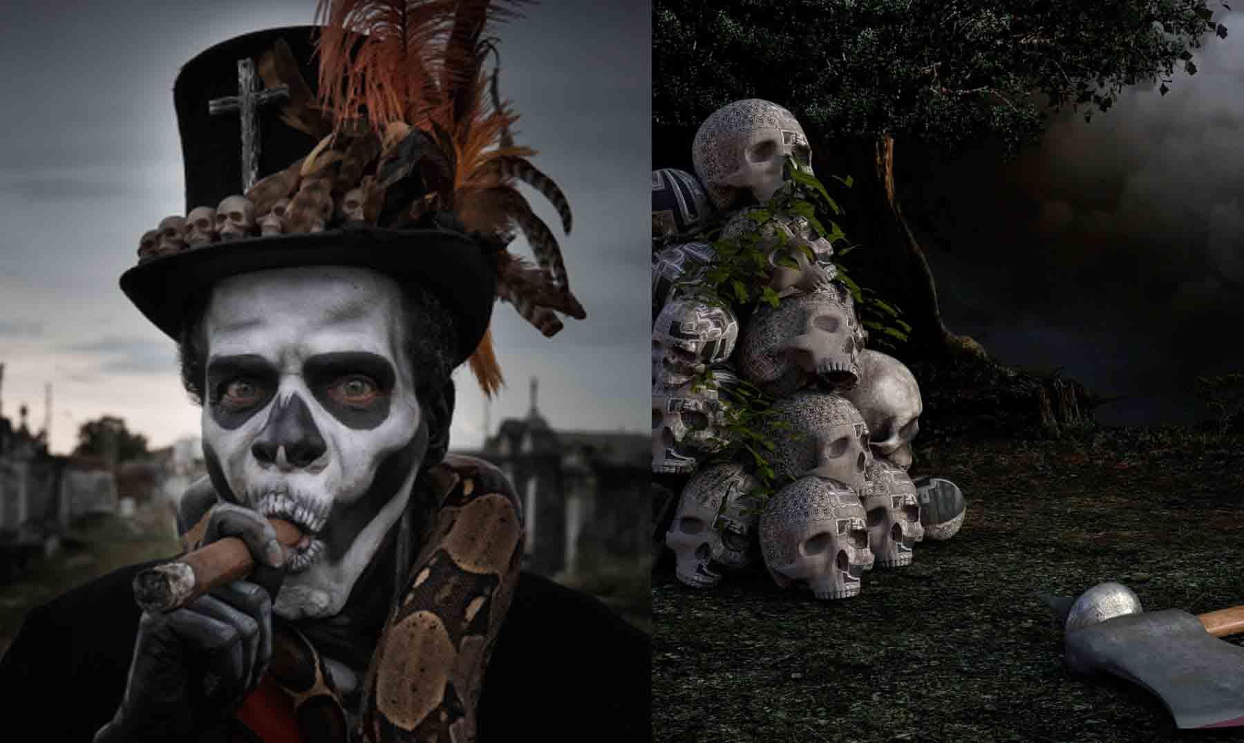 El Barón Samedi como Maestro de los muertos