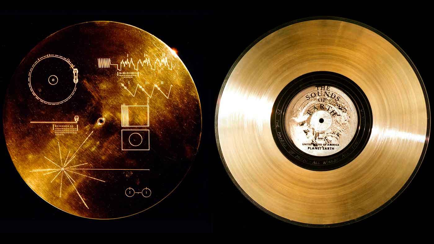 El disco dorado del Voyager y el mensaje de la humanidad al cosmos