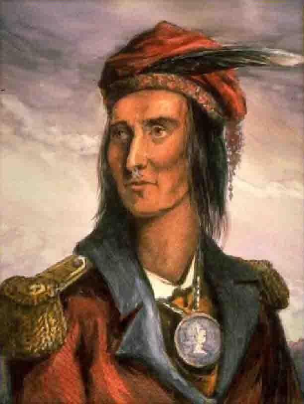 Ilustración de Tecumsé