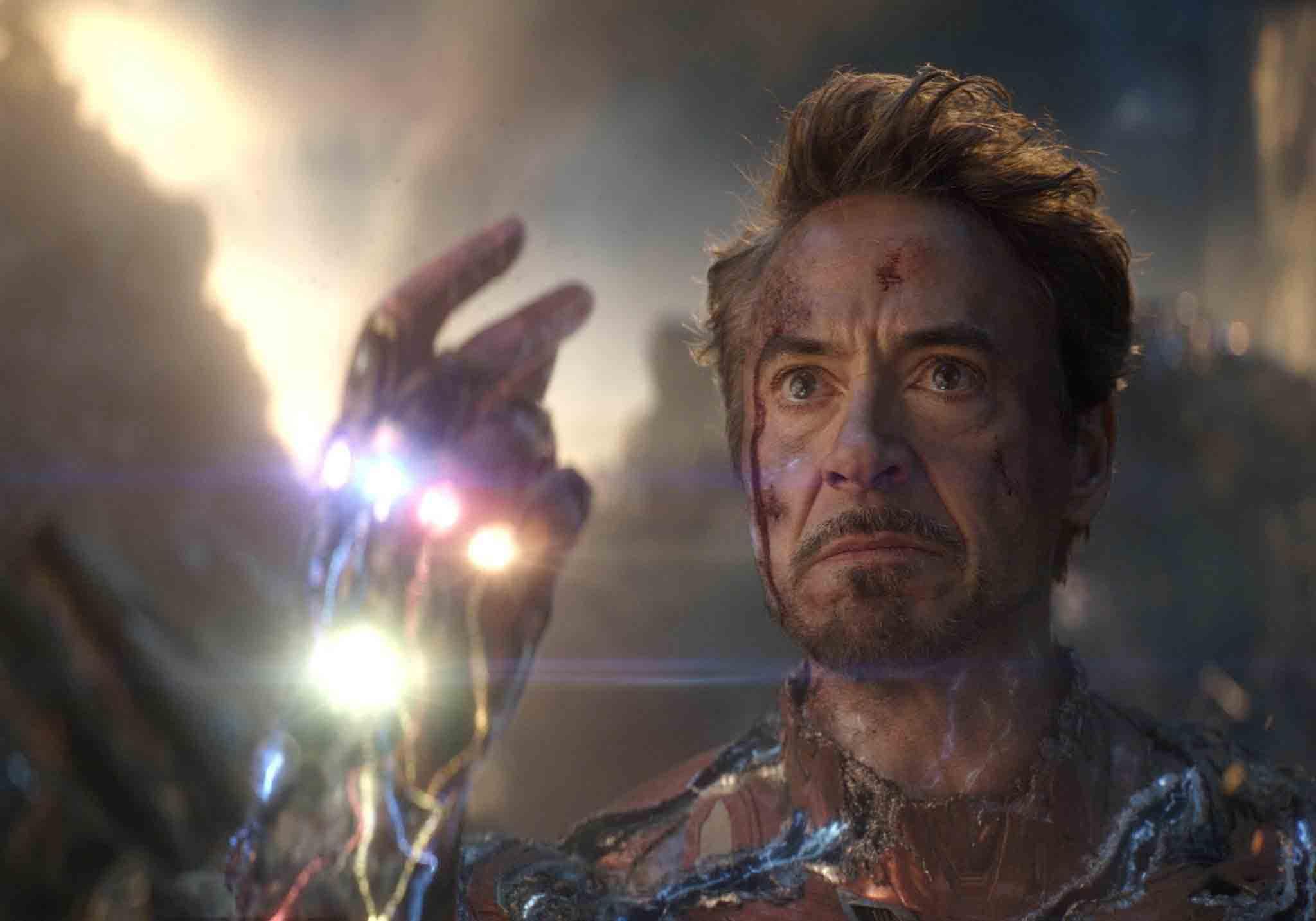 Una de las escenas más importantes de Avengers: Endgame, protagonizada por Iron Man