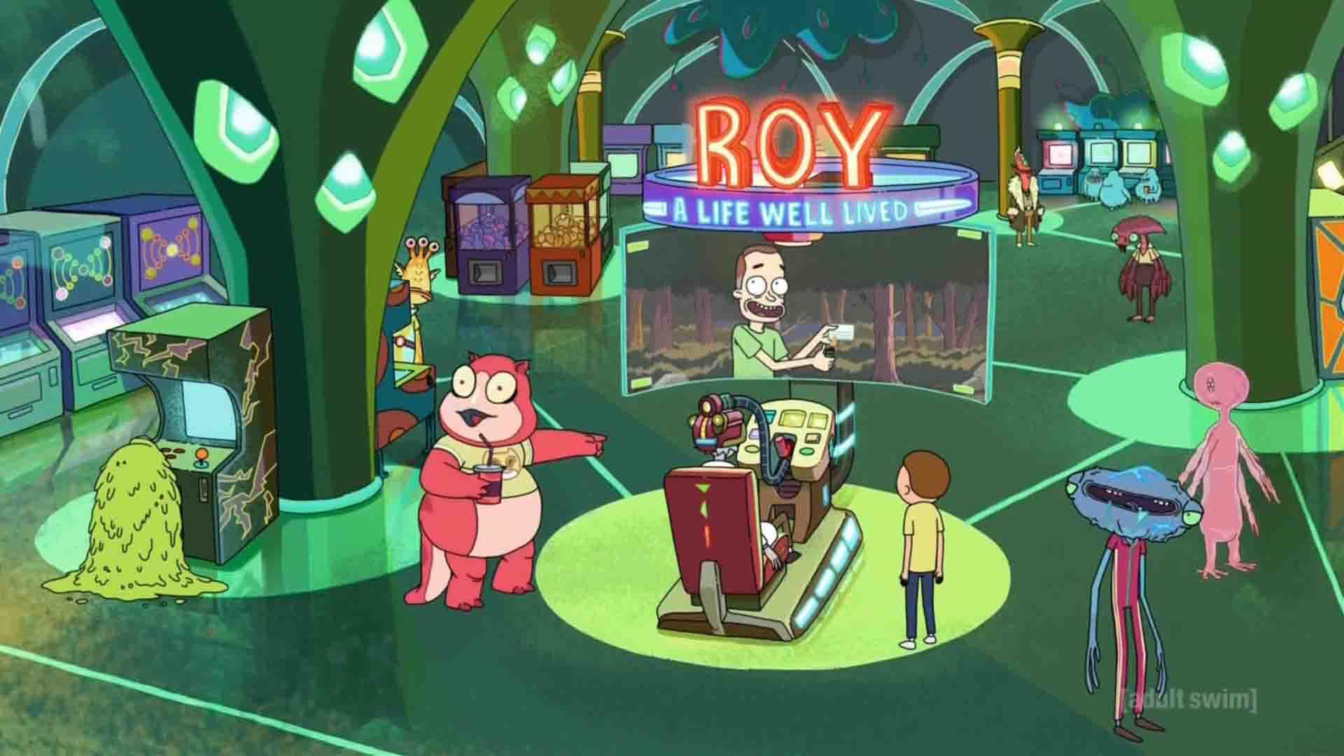 La simulación Roy en Rick y Morty