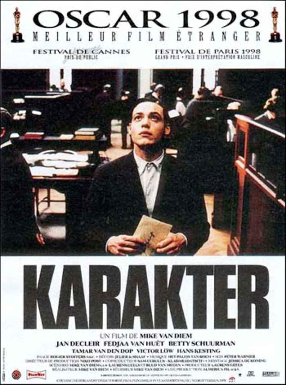 Karakter, Oscar a la mejor película extranjera 1998