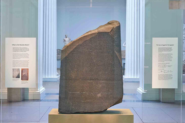 La Piedra de Rosetta, la llave para descifrar Egipto