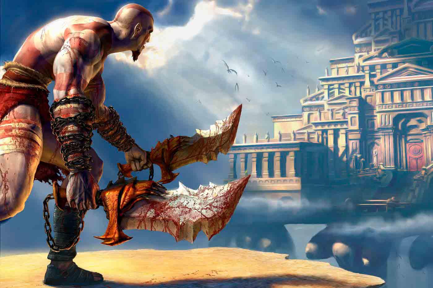 La cruel historia de Kratos, God of War