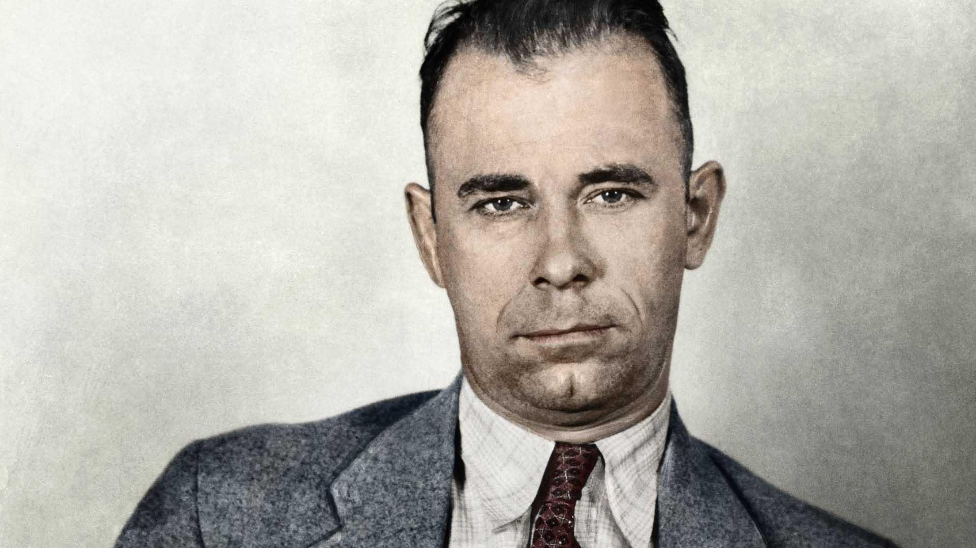 La historia detrás de John Dillinger, el enemigo público número uno