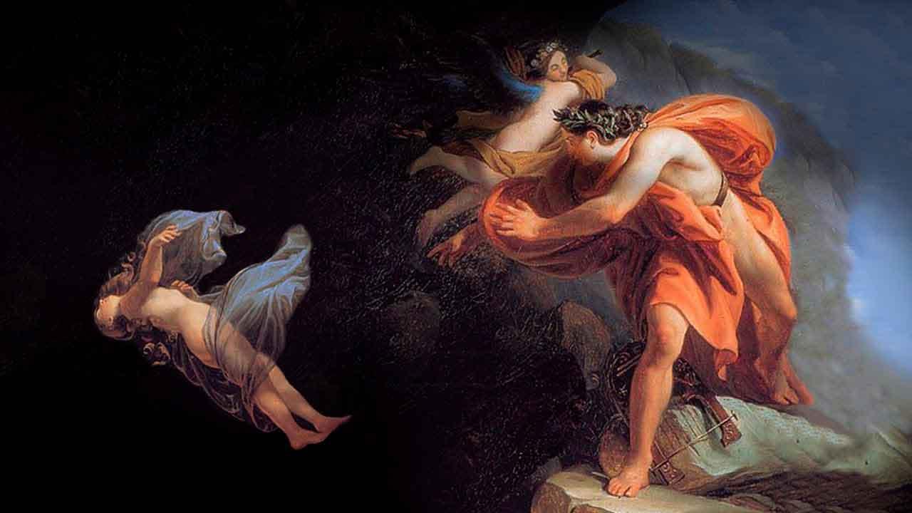 La tragedia griega de Orfeo y Eurídice
