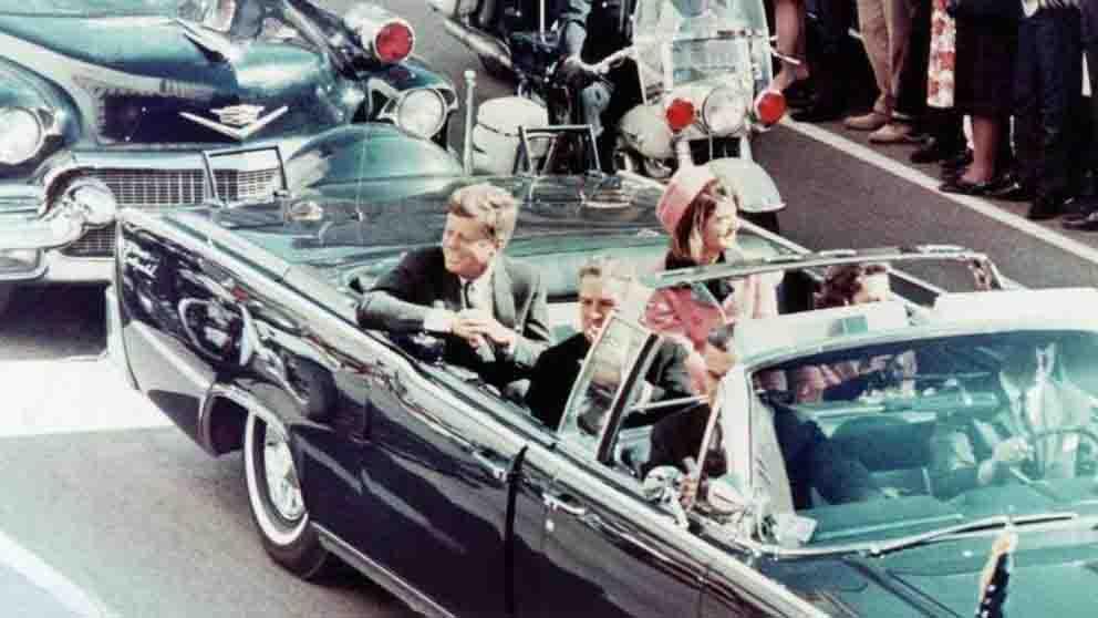 Momentos antes del asesinato de John F. Kennedy