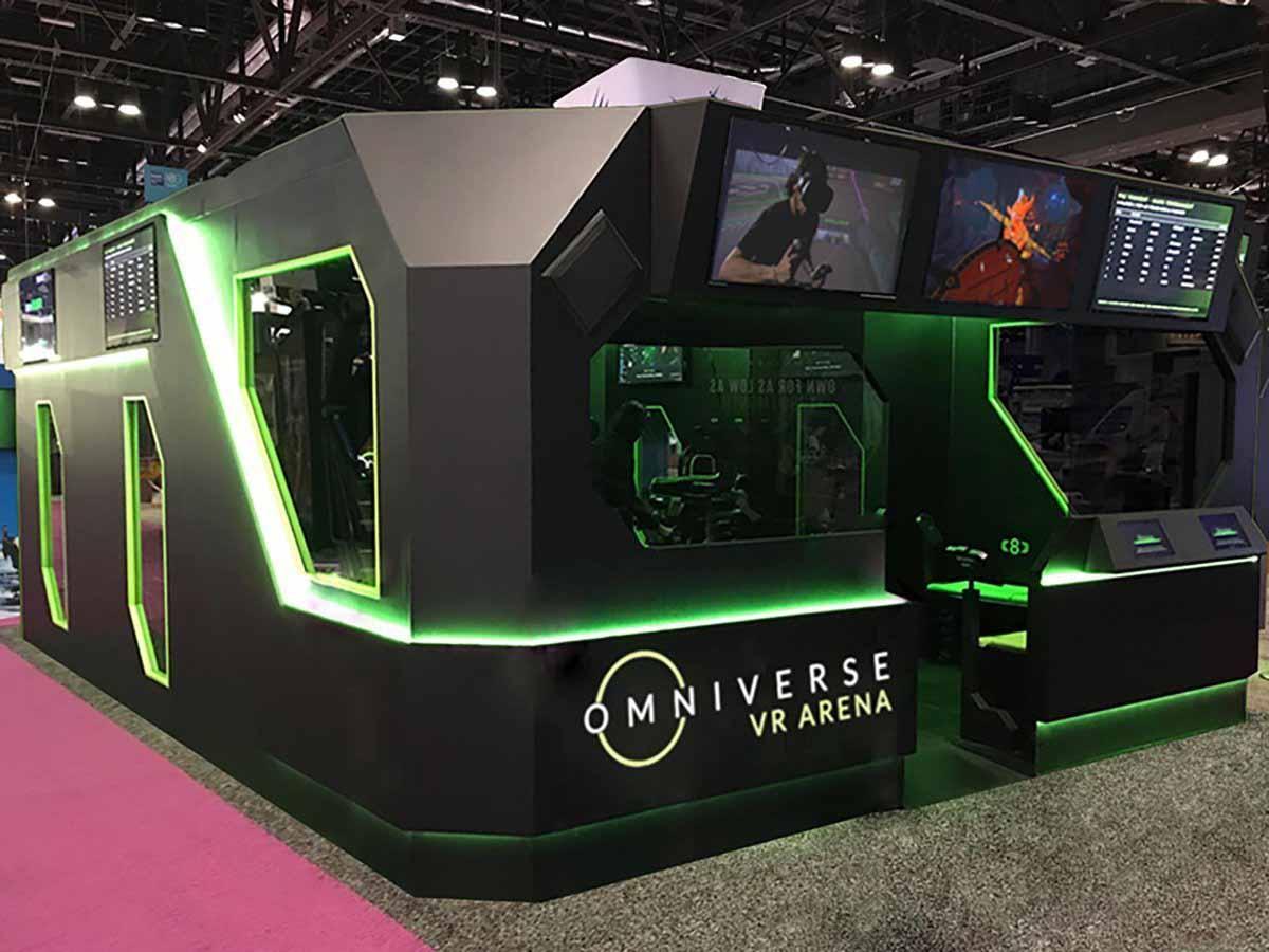 Omniverse VR Arena