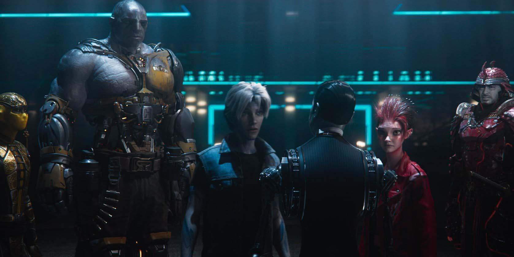 Personajes principales de la película