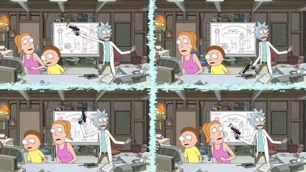 Principio de Incertidumbre de Heisenberg en Rick y Morty