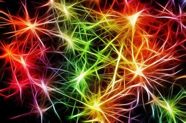 Representación artística de las redes neuronales