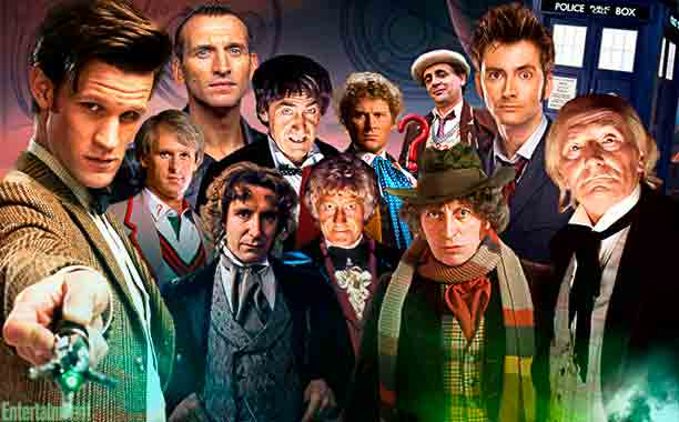 Los doctores de Dr. Who