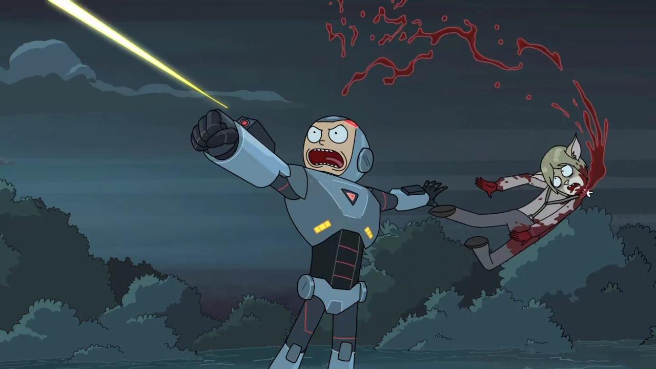 Trajes biomecánicos en Rick y Morty