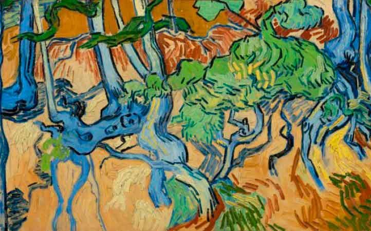 Tree Roots, la última pintura de Vincent van Gogh