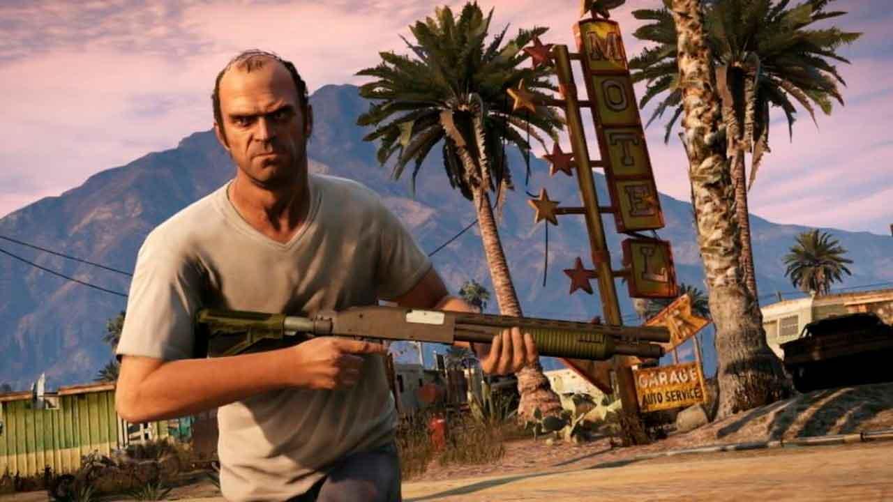Trevor Phillips, la cara insolente de Grand Theft Auto V