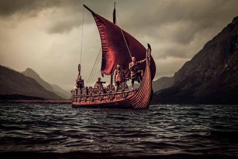 Barco de los vikingos
