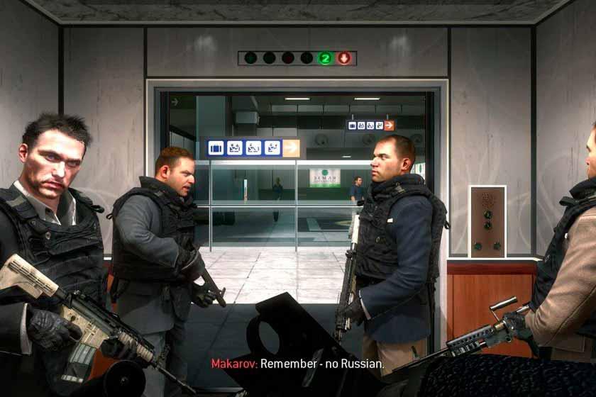 Escena del videojuego Call of Duty Modern Warfare 2