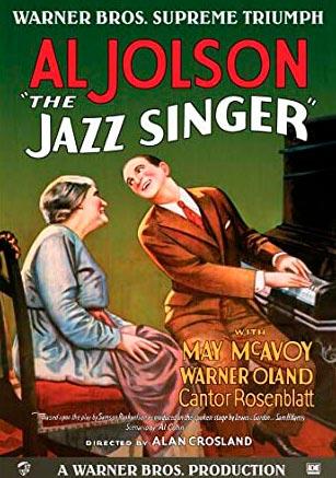 Cartel de la película The jazz singer