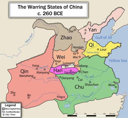 China antes de la unificación