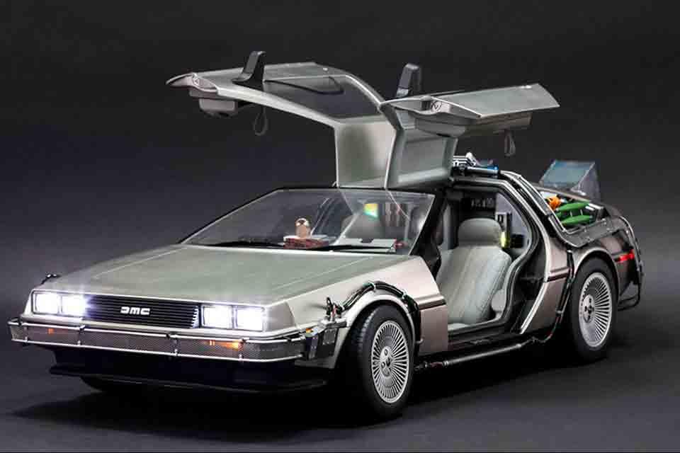 El DeLorean entre los autos icónicos