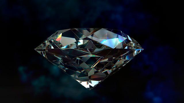 Lluvia de diamantes