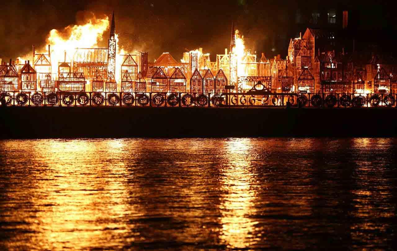 El Gran Incendio de Londres de 1666