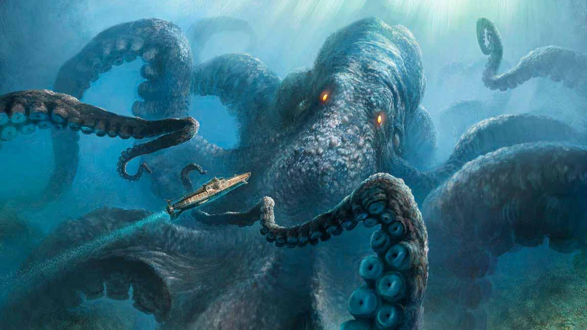 El Kraken y la supuesta explicación del mito escandinavo