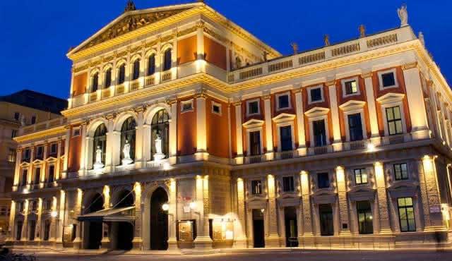 El Musikverein de Viena que alberga el concierto de Año Nuevo desde sus orígenes