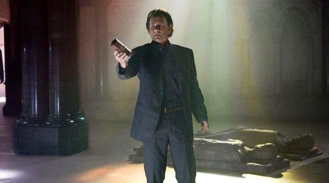 Escena de El Código DaVinci, película que incluye varias referencias masónicas en la trama