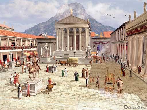 Estilo de vida en Pompeya