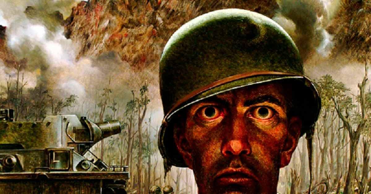 El fenómeno psicológico de la neurosis de guerra, el terror de los soldados veteranos