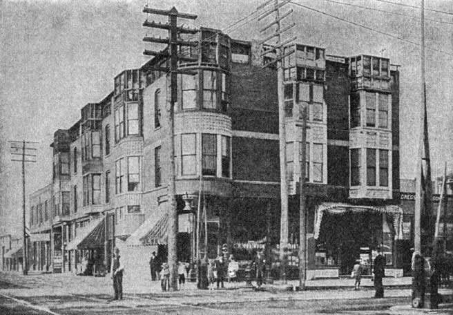 Vista exterior del Hotel de los Horrores de Chicago