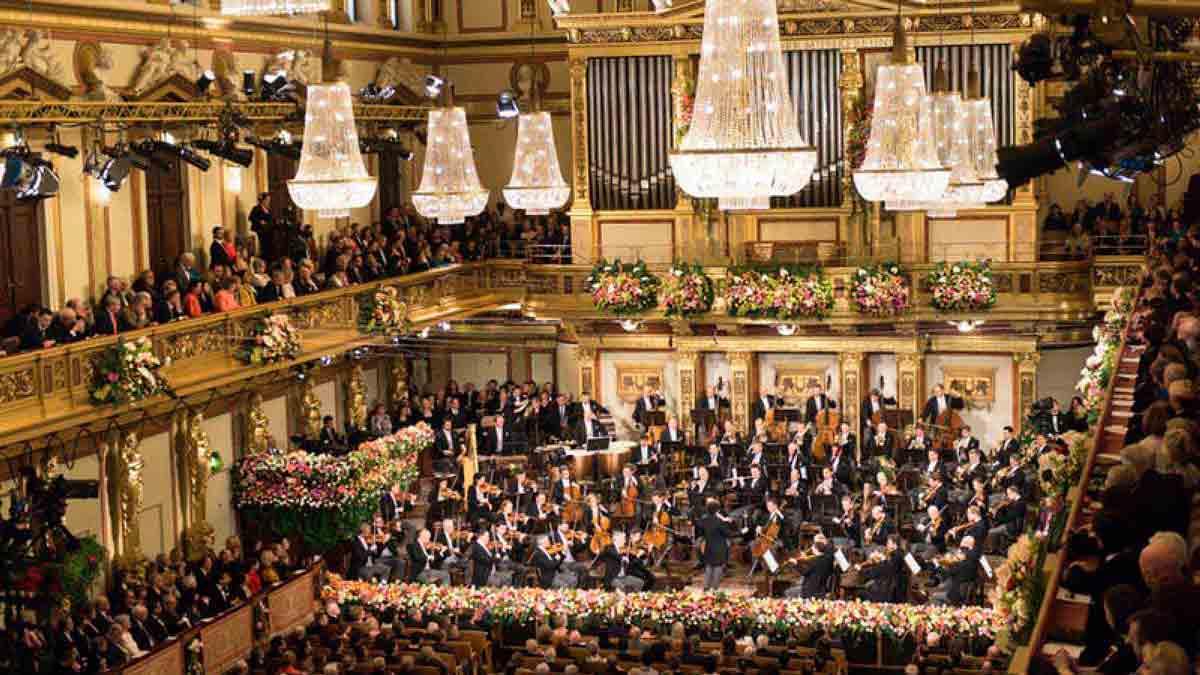 El majestuoso concierto de Año Nuevo de Viena