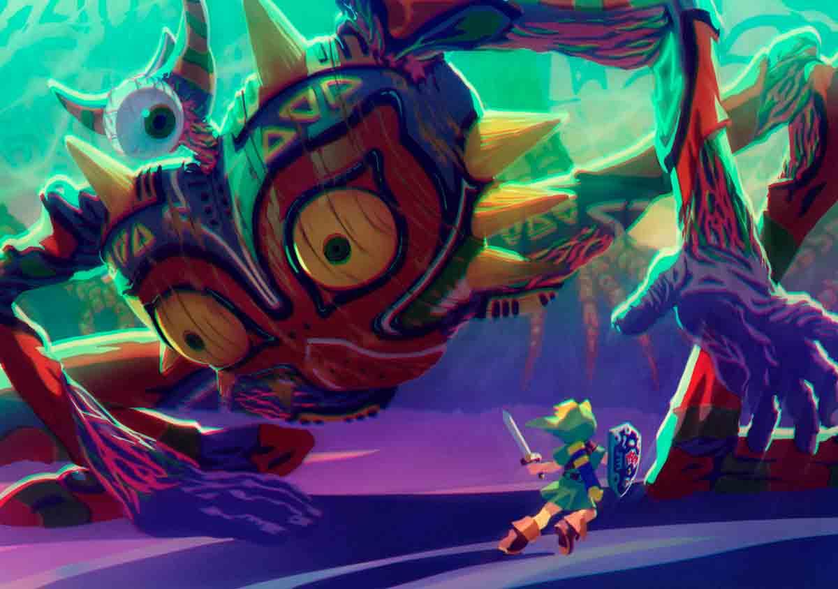 El manejo del tiempo en Zelda Majora's Mask