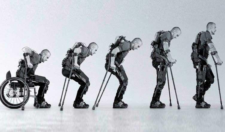 Exoesqueleto diseñado para personas con discapacidades