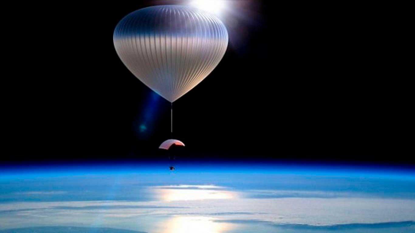 Imagen real de un globo meteorológico, teoría descartada desde el inicio