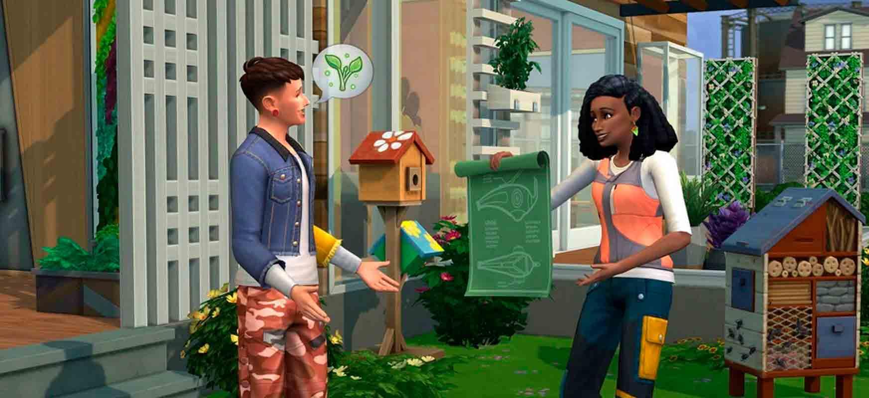 Interacción entre Sims
