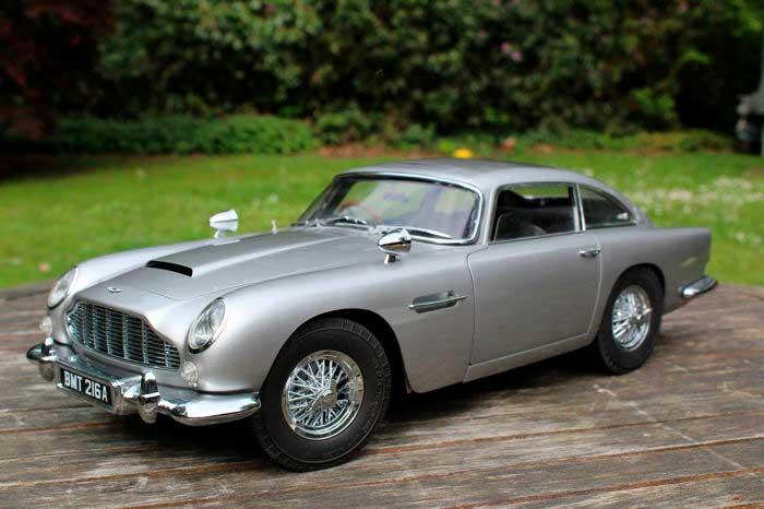 Los autos icónicos de James Bond