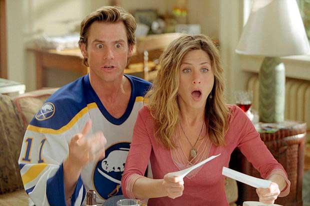 Jennifer Aniston en Bruce Almighty