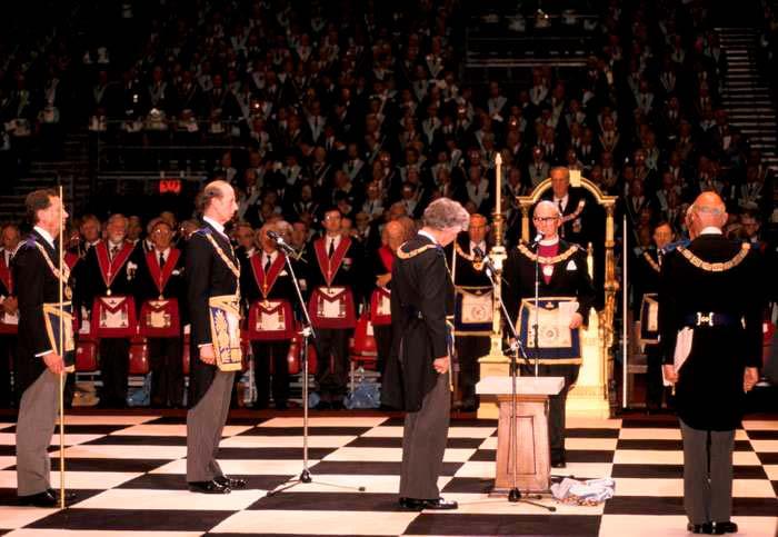 La Gran Logia de Inglaterra en masonería