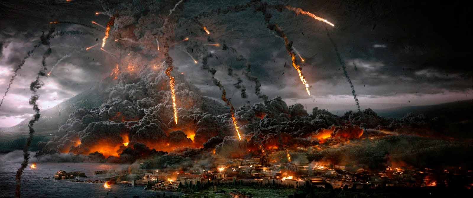 La catastrófica suerte de Pompeya